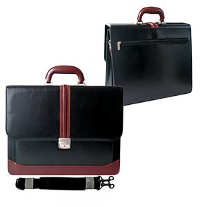 Executive document bag Material: PU Leather Size 41.5 X 32 X 12.5 CM